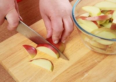 Варенье из яблок с брусникой и грецкими орехами. Пошаговый рецепт с фото.