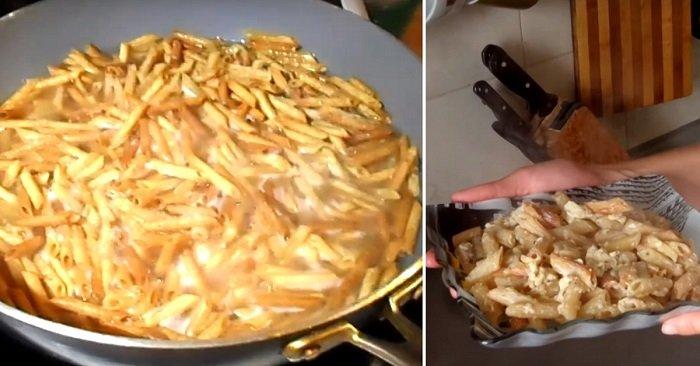 Жареные макароны по-армянски: изящный способ приготовления