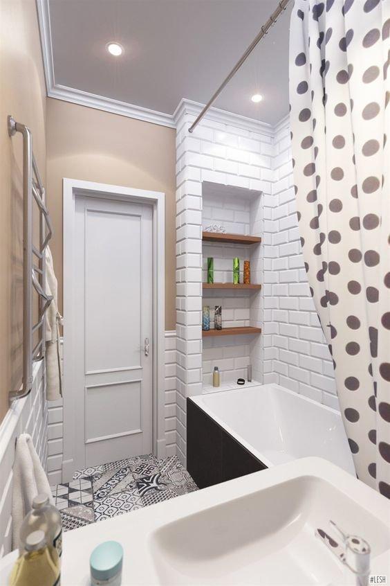 Полезные идеи для 2 м², которые помогут превратить крохотную ванную в райское место