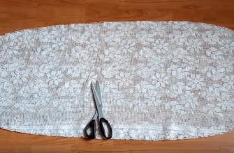 Полезное и красивое использование старой занавески