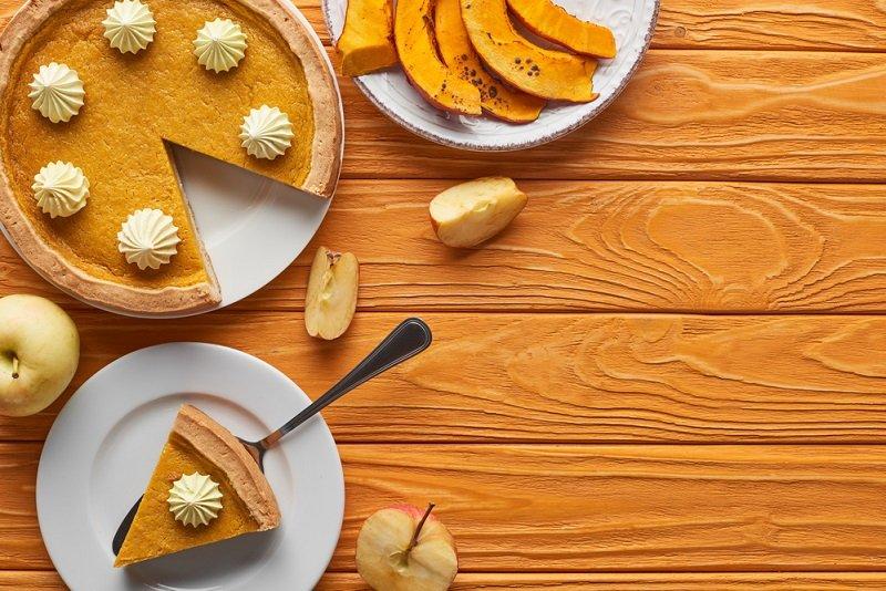 Искусство запекания тыквы в виде торта