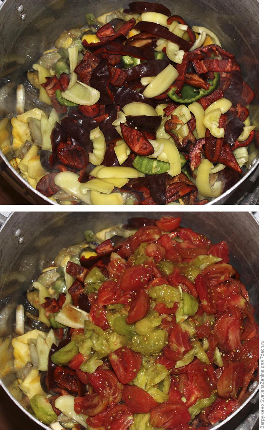 Лечо из сладкого перца с баклажанами и патиссонами. Пошаговый рецепт заготовки на зиму с фото.