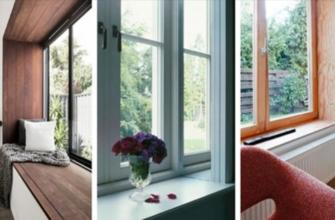 Декор откоса окна: так гораздо лучше, чем белый пластик
