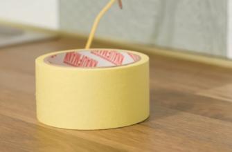 Как приспособить малярную ленту в быту