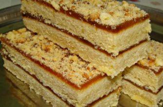 Советское пирожное с вареньем за 22 копейки: тот самый рецепт