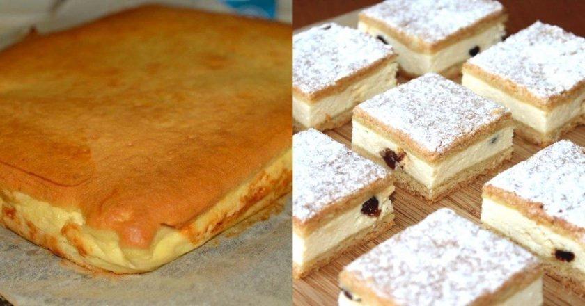 Наливной творожный пирог: к празднику и к рядовому чаепитию