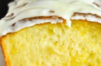 Потрясающий лимонный кекс: рыхлый и безумно ароматный. Выпечка к чаепитию.