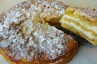 5 слоев чистого удовольствия: болгарский яблочный пирог без теста