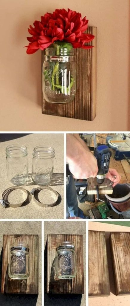 17 идей в деревенском стиле из дешевых и доступных материалов