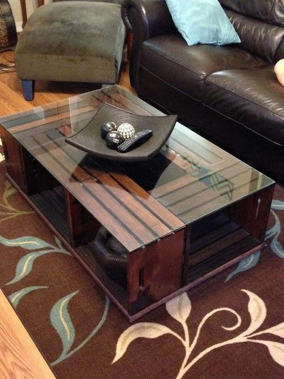 Полноценная и практичная мебель из деревянных ящиков