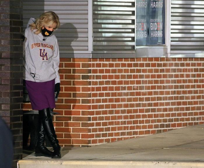 Как выглядит и что носит Джилл Байден: простая учительница, которая метит на пост первой леди США