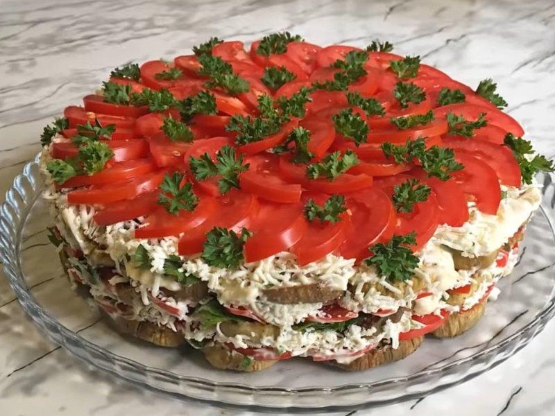 Торт «Баклажановый рай», после которого хозяйки перестают жарить баклажаны