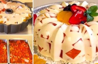 Как приготовить десерт на молоке или сметане