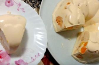 Как приготовить творожный торт без выпечки «Снежок»