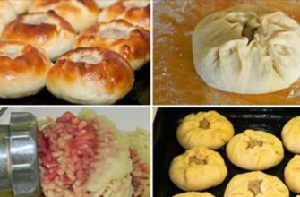 Как приготовить беляши в духовке
