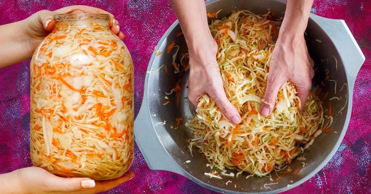 Самая хрустящая капустка: 4 наилучших рецепта