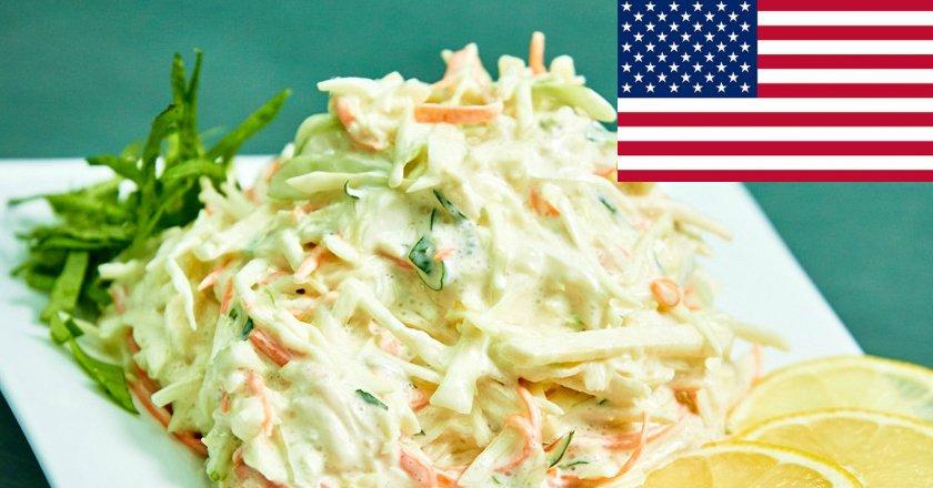 Как приготовить традиционный американский салат коул слоу