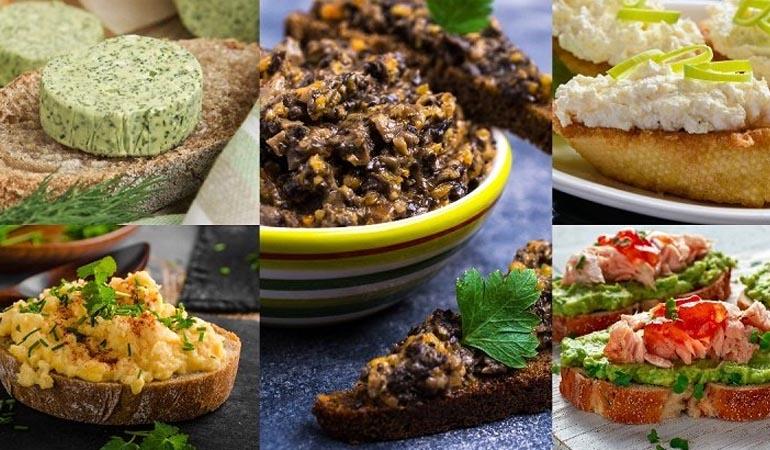 Намазка для бутербродов — самые вкусные рецепты
