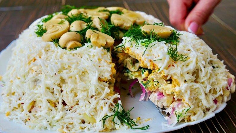 10 роскошных новогодних блюд от Ольги Матвей: салаты, закуски, горячее и торт