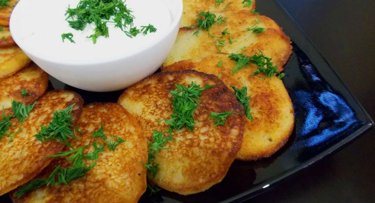 Любимые драники за 3 минуты: без терки! Дольше лишь картошку чистить.