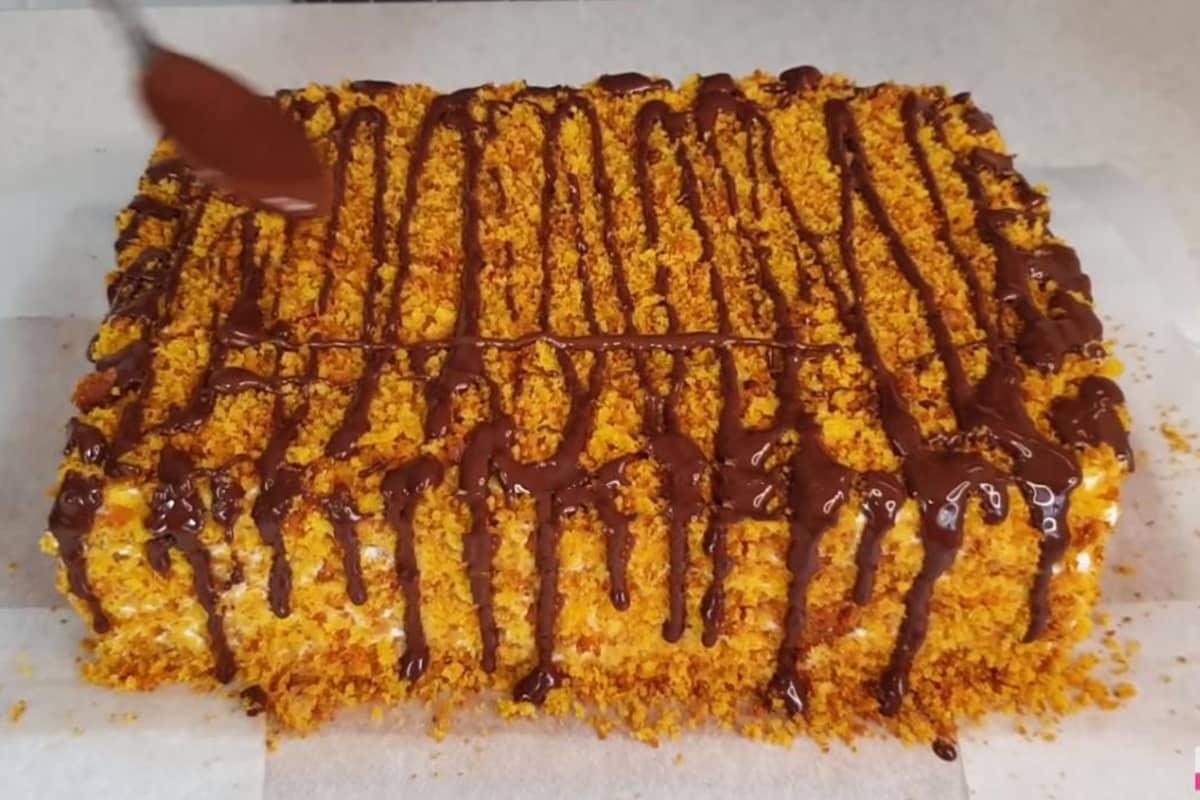 Торт, который не нужно раскатывать и пропитывать