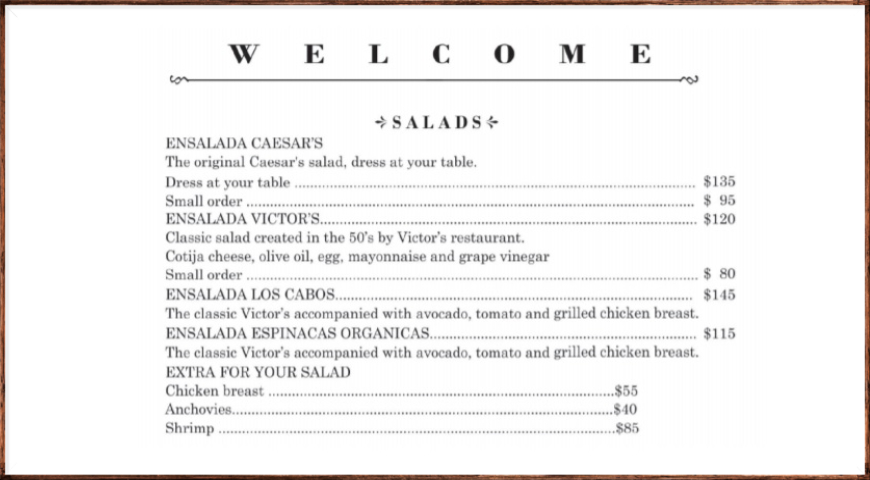 История салата Цезарь. Три подробные версии.