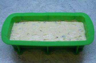 Как приготовить кекс с орехами и сухофруктами