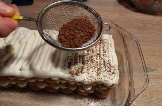 Торт «Снежные хлопья» без выпечки для волшебных зимних вечеров