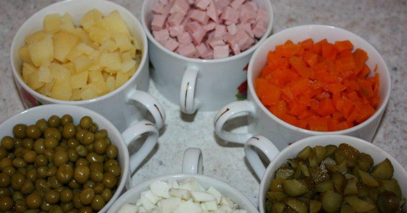 Все тонкости приготовления знаменитого салата «Оливье»