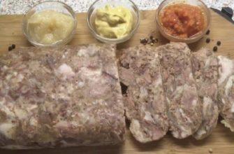 Невероятный сальтисон из куриных желудков: простой пошаговый рецепт