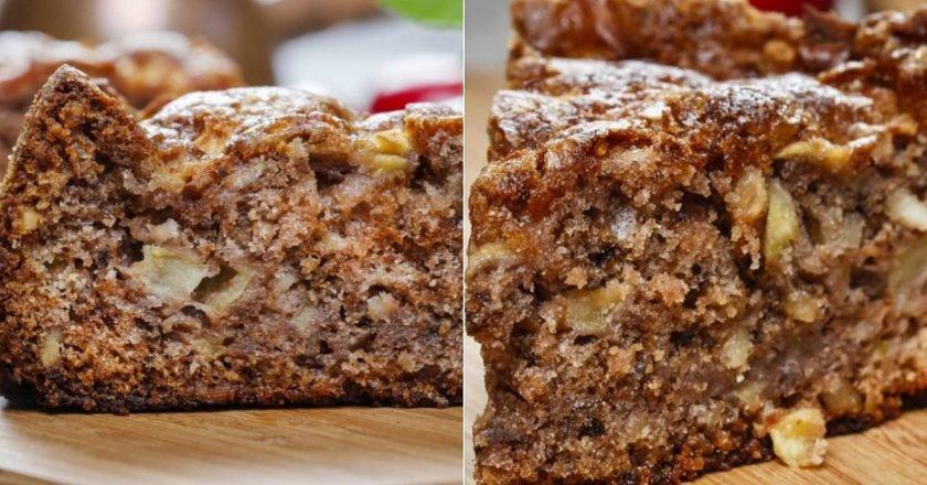 Шикарнейший яблочный пирог с корицей! 30 минут на подготовку — остальное сделает духовка.