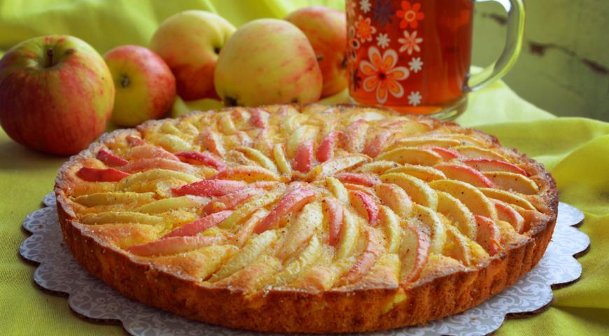 Морковно-яблочный пирог Осень