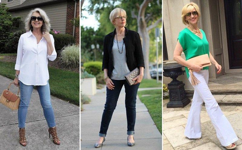 Какие джинсы носить в зрелом возрасте