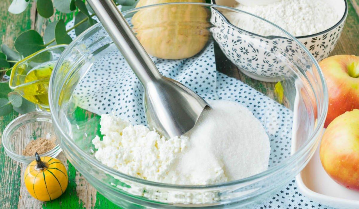 Как приготовить творожные булочки с яблоками и тыквой