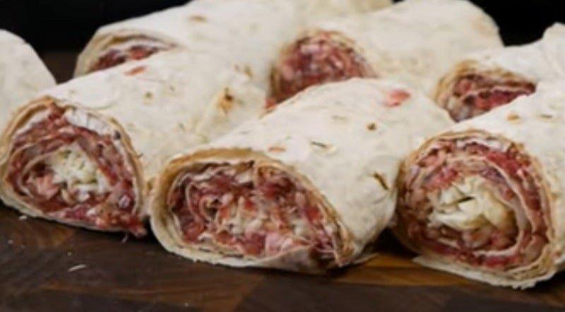 Ленивый пирог с мясом и как его готовит цыганка