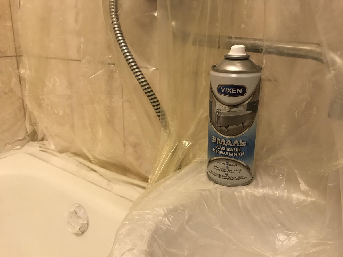 Как покрасить ванну: мастер-класс по покрытию эмалью