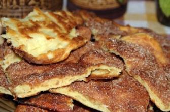 Блюдо испанских евреев, обалденно вкусное: хрустящая сахарная лепешка