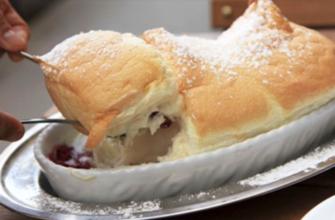 Десерт с родины Моцарта «Зальцбург нокерльн»: исчезает молниеносно