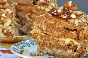 Как приготовить ореховый торт-десятиминутку без муки