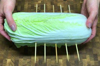 Как за 15 минут превратить пекинскую капусту в сочный гарнир