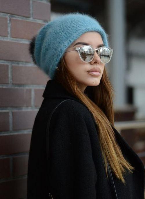 Стильные и необычные вязаные шапки на зиму 2020-2021