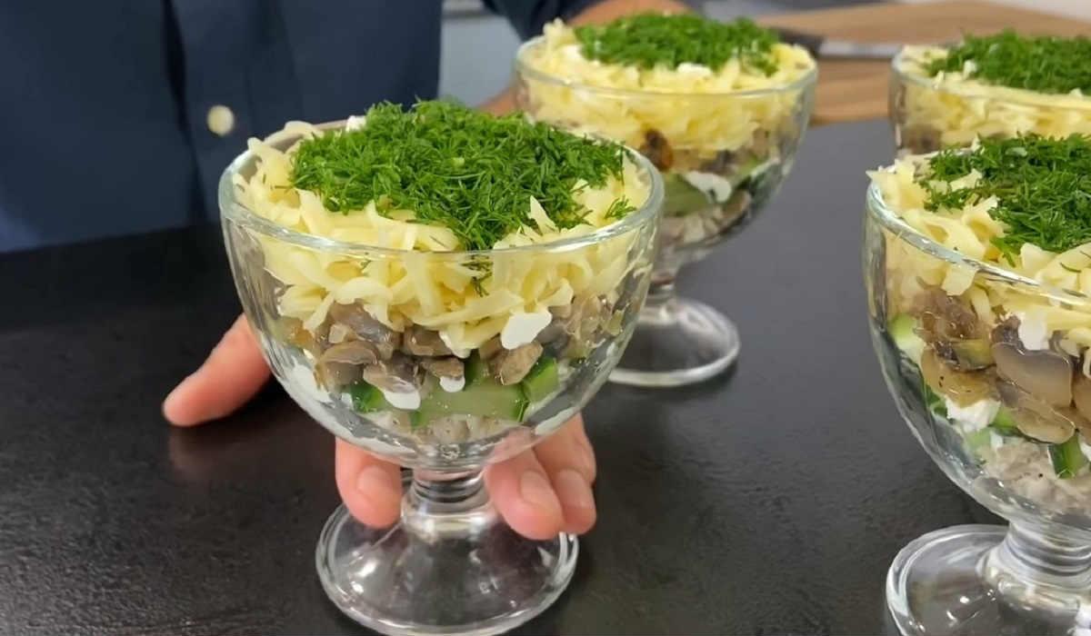 Тот самый салат «Швейцарский», который все ищут перед праздниками