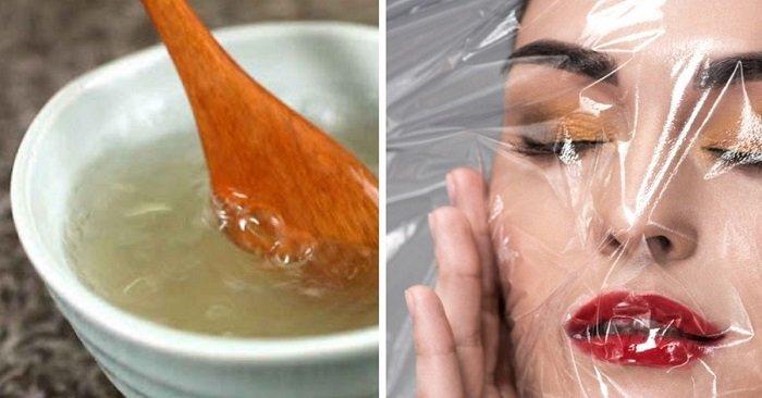 Домашняя маска с глицерином и как наносить ее жарким вечером