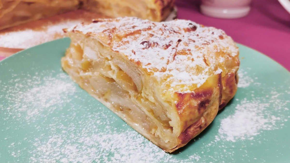 Сочный пирог с яблоками без теста: рецепт на все случаи жизни
