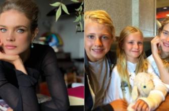 Как заботится о себе мать пятерых детей Наталья Водянова