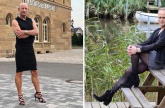 Почему некоторым мужчинам так по душе женские наряды
