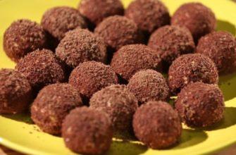 Творожные шарики в шоколадной стружке — натуральные конфеты для всей семьи