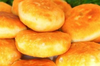 Рецепт быстрых пирожков на кефире с излюбленной творожной начинкой