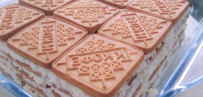 Рецепт торта за 27 минут. Без муки, без выпечки, без стресса.