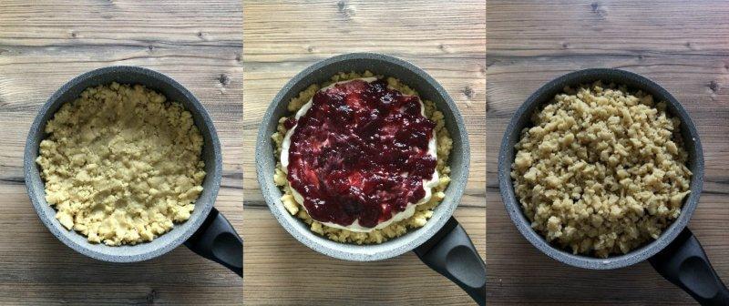 Песочный пирог на сковороде: тающий, рассыпчатый, с удивительно нежной начинкой